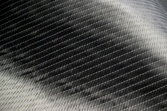 A typical reinforcing textile made from carbon fibres Photo: Nike