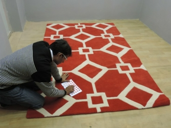 After installing the harmony room, Malti Rugs has been receiving 1st Shot approvals on its colors, which would not have been possible before.