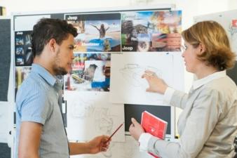 Infos about the 'Transportation Interior Design' course at Reutlingen Photos: Reutlingen University
