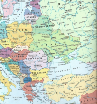 The countries of Eastern Europe Photo: Bundeszentrale für politische Bildung