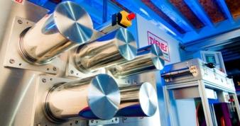 Dienes exhibits its largest ever built-in series high-temperature godet Photo: Dienes