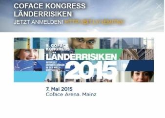 Coface Kongress Länderrisiken 2015 Photo: screenshot