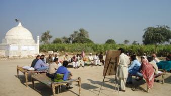 BCI-Workshop zum nachhaltigen Anbau in Pakistan - BCI-workshop on sustainable cotton planting in Pakistan © BCI