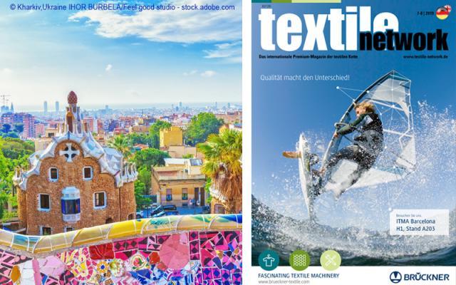 Aktuelle Ausgabe textile entwork