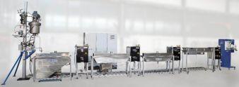 Lösungsmittelspinnanlage techn. Maßstab (Fourné Polymertechnik GmbH)