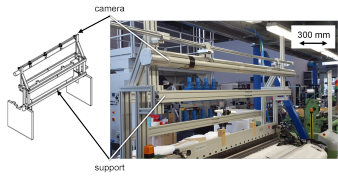 Figure 7: Machine vision system prototype at ITA